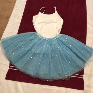 Dancina ballerina Costume set  skirt/ Leotard